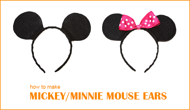 Diy Mickey Minnie Mouse Ears