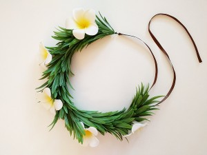 DIY Moana Flower Lei Crown